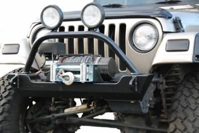 Hyline Offroad - Jeep Wrangler Hyline Crawler Front Bumper Assembly - TJ-YJ-10CFB