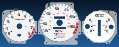 Matrix - Reverse Speed Glo Gauges - 11065