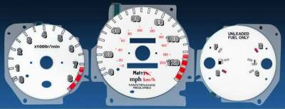 Matrix - Reverse Speed Glo Gauges - 11066