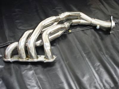 Megan Racing - Honda S2000 Megan Racing Exhaust Header - T304 Stainless Steel - MR-SSH-S2K