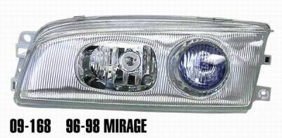 Matrix - Clear Projector Headlights with Chrome Housing - 9168