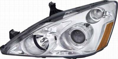 Matrix - Blue Projector Headlights with Chrome Housing - 91173