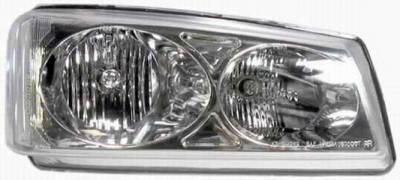 I-Tech - I-Tech Diamond Back Headlights - Chrome - 02AZCL03C