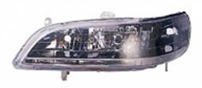 I-Tech - I-Tech Euro Clear Headlights - Black JDM Style - 02YDHA98B