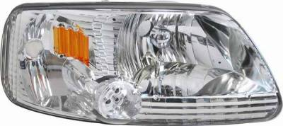 Matrix - Diamond Back Headlights with LED Lights - 1PC - 0911341CA