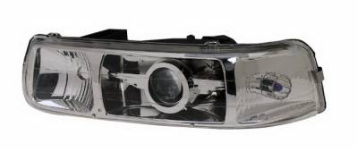 In Pro Carwear - Chevrolet Tahoe IPCW Headlights - Projector with Wings - 1 Pair - CWC-CE14