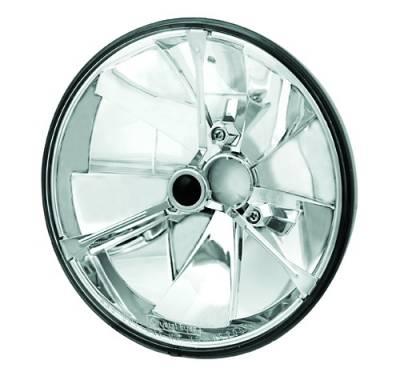 In Pro Carwear - Hummer H2 IPCW Headlights - Diamond Cut - Each - 1 Pair - CWC-CE22