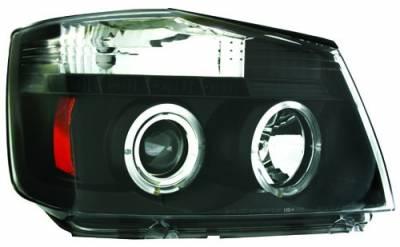 In Pro Carwear - Nissan Armada IPCW Headlights - Projector - 1 Pair - CWS-1114B2