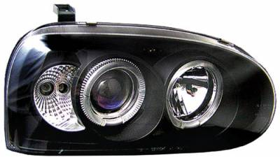 In Pro Carwear - Volkswagen Golf In Pro Carwear Projector Headlights - CWS-1501B2