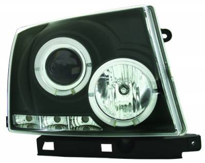 In Pro Carwear - Toyota Tacoma IPCW Headlights - Projector - 1 Pair - CWS-2015B2