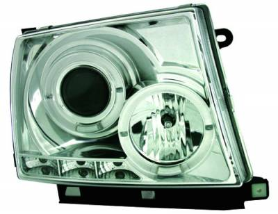 In Pro Carwear - Toyota Tacoma IPCW Headlights - Projector - 1 Pair - CWS-2015C2