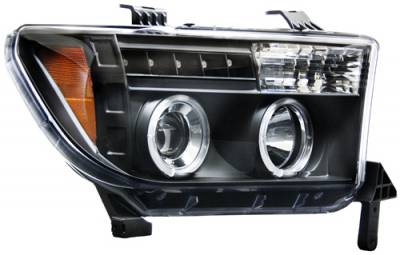 In Pro Carwear - Toyota Tundra In Pro Carwear Projector Headlights - CWS-2037B2