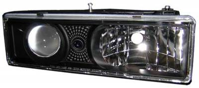 In Pro Carwear - GMC C1500 Pickup In Pro Carwear Projector Headlights - CWS-303B2