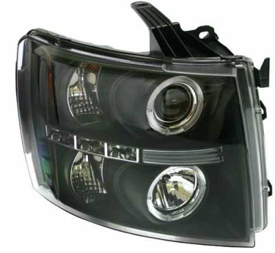 In Pro Carwear - Chevrolet Silverado In Pro Carwear Projector Headlights - CWS-3040B2