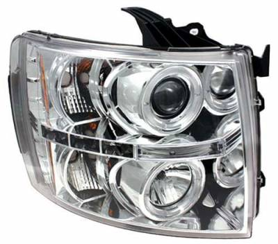 In Pro Carwear - Chevrolet Silverado In Pro Carwear Projector Headlights - CWS-3040C2