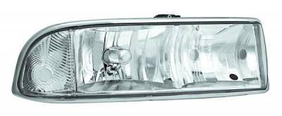 In Pro Carwear - Chevrolet S10 IPCW Headlights - Diamond Cut - 1 Pair - CWS-308