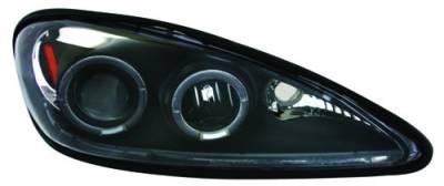 In Pro Carwear - Pontiac Grand Am IPCW Headlights - Projector - 1 Pair - CWS-326B2