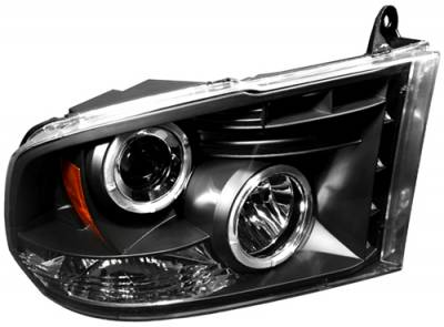 In Pro Carwear - Dodge Ram In Pro Carwear Projector Headlights - CWS-423B2