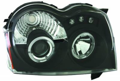 In Pro Carwear - Jeep Grand Cherokee IPCW Headlights - Projector - 1 Pair - CWS-5005B2