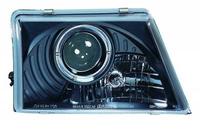 In Pro Carwear - Ford Ranger IPCW Headlights - Projector with Rings - 1 Pair - CWS-506B2