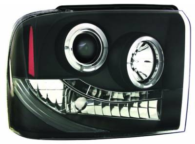 In Pro Carwear - Ford Superduty IPCW Headlights - Projector - 1 Pair - CWS-511B2