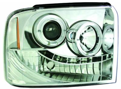 In Pro Carwear - Ford Superduty IPCW Headlights - Projector - 1 Pair - CWS-511C2