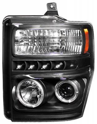 In Pro Carwear - Ford Superduty In Pro Carwear Projector Headlights - CWS-561B2
