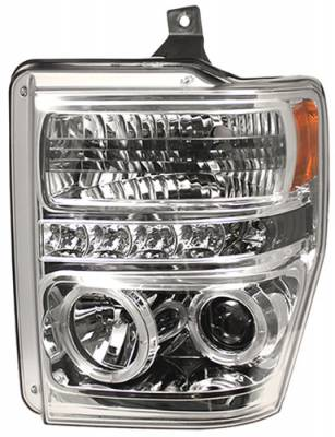 In Pro Carwear - Ford Superduty In Pro Carwear Projector Headlights - CWS-561C2