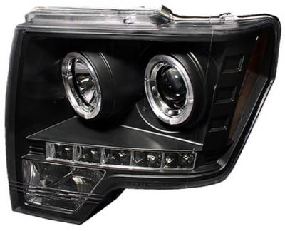 In Pro Carwear - Ford F150 In Pro Carwear Projector Headlights - CWS-568B2