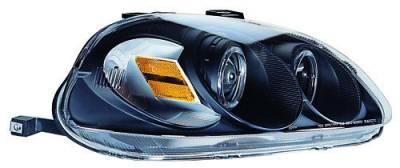 In Pro Carwear - Honda Civic In Pro Carwear Projector Headlights