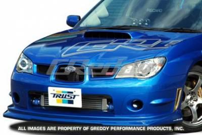 Greddy - Subaru WRX Greddy Gracer Aero-Style Front Lip Spoiler - Fiber Reinforced Plastic - 17060053