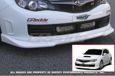 Greddy - Subaru WRX Greddy Aero Front Lip - Urethane - 17060054