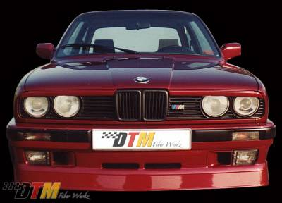 DTM Fiberwerkz - BMW 3 Series DTM Fiberwerkz US Alpina Style Front Apron - E30 US Alpin