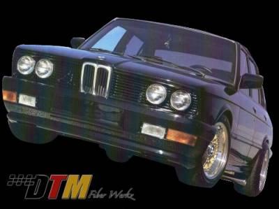 DTM Fiberwerkz - BMW 5 Series DTM Fiberwerkz ACS Euro Style Front Bumper - E28-ACS