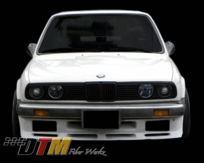 DTM Fiberwerkz - BMW 3 Series DTM Fiberwerkz Front Apron - E30ESFBumper