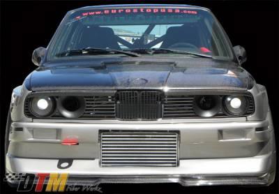DTM Fiberwerkz - BMW 3 Series DTM Fiberwerkz Evo R Style Front Bumper - E30-EVO-R-ST