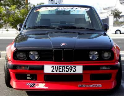 DTM Fiberwerkz - BMW 3 Series DTM Fiberwerkz Evo Style Front Lip - E30-EVO-S