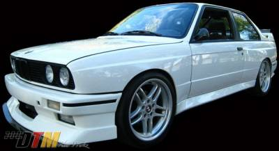 DTM Fiberwerkz - BMW 3 Series DTM Fiberwerkz Evo Style Front Bumper - E30-EVO-STYL