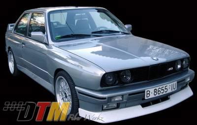 DTM Fiberwerkz - BMW 3 Series DTM Fiberwerkz Evo Style Front Lip - E30-M3-EVO-S