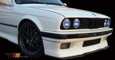 DTM Fiberwerkz - BMW 3 Series DTM Fiberwerkz RG Infinity Style Front Cup Lip - E30-RG-INFIN