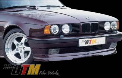 DTM Fiberwerkz - BMW 5 Series DTM Fiberwerkz RG Infinity Style Front Lip - E34-RG-INFIN