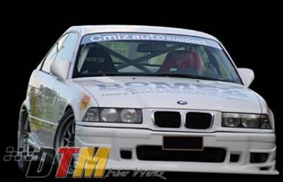 DTM Fiberwerkz - BMW 3 Series DTM Fiberwerkz BOMX Style Front Bumper - E36BOMXFront
