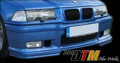 DTM Fiberwerkz - BMW 3 Series DTM Fiberwerkz LTW Velocity Style Front Corner Splitter - E36ltwveloci