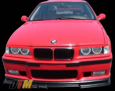 DTM Fiberwerkz - BMW 3 Series DTM Fiberwerkz OEM M3 Style Front Bumper - E36-OEM-M3-S