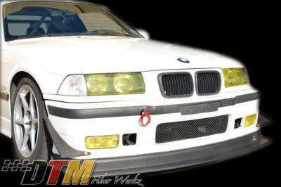 DTM Fiberwerkz - BMW 3 Series DTM Fiberwerkz M3 Race Front Lip with Undertray - E36Racem3