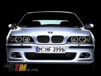 DTM Fiberwerkz - BMW 5 Series DTM Fiberwerkz OEM M5 Style Front Bumper - E39M5FRT