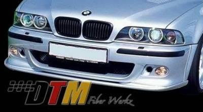 DTM Fiberwerkz - BMW 5 Series DTM Fiberwerkz M5 HM Style Front Splitter - E39M5HMFRTSP