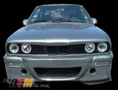 DTM Fiberwerkz - BMW 3 Series DTM Fiberwerkz CSL E46 Style Front Bumper - E30 CSL E46