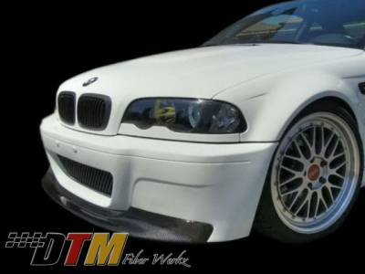 DTM Fiberwerkz - BMW 3 Series DTM Fiberwerkz M3 CSL Style Front Lip - E46M3CSL1Pie