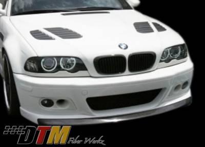 DTM Fiberwerkz - BMW 3 Series DTM Fiberwerkz M3 Strass Style Front Lip - E46strasslip